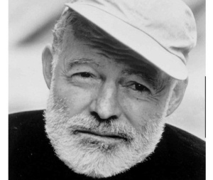 Hemingway (not at age 116.  We wouldn't want to see that).