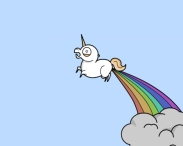 cute-fart-funny-rainbow-unicorn-favim-com-47977