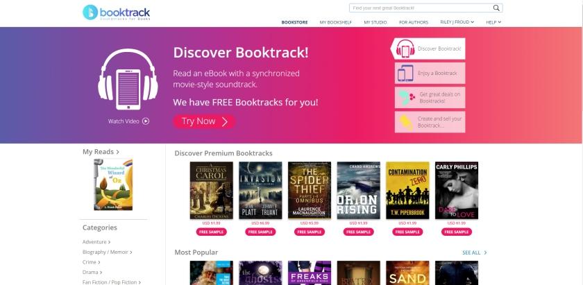 BookTrack screenshot