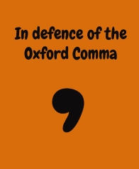Oxford Comma 1
