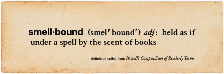 Debate about the scent of books